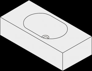 Harper 700 Centre Bowl Basin