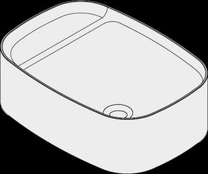 Orlo Rectangle Basin ISO